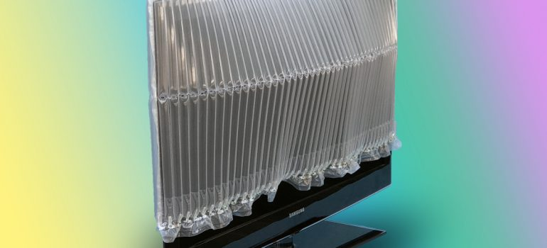 u-type inflatable protective packaging